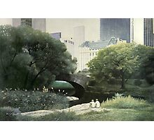 Summer Days(Central Park-New York City) Photographic Print