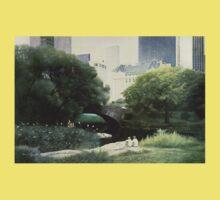 Summer Days(Central Park-New York City) Kids Tee