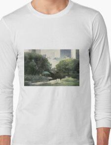 Summer Days(Central Park-New York City) Long Sleeve T-Shirt