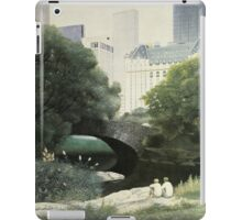 Summer Days(Central Park-New York City) iPad Case/Skin