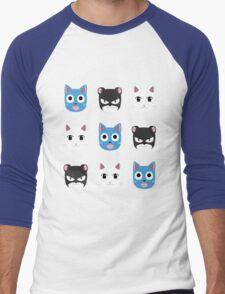 Chibi fairy cats V2 Men's Baseball ¾ T-Shirt