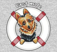 Australian Terrier : First Mate by offleashart