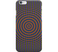Sphere in Blue Green and Red iPhone Case/Skin