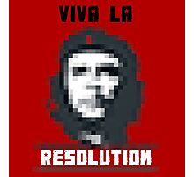 VIVA LA RESOLUTION - white Photographic Print