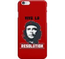 VIVA LA RESOLUTION - white iPhone Case/Skin