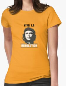 VIVA LA RESOLUTION - white Womens Fitted T-Shirt