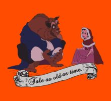 """""""Tale as old as time..."""" - Beauty and the Beast Kids Clothes"""
