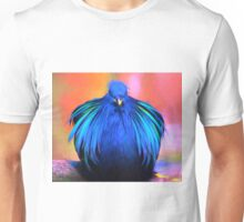 A Mystery Blue Bird Unisex T-Shirt