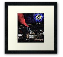 Heartbeat City Framed Print