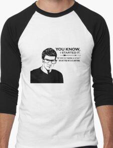 Hipster Angel Men's Baseball ¾ T-Shirt
