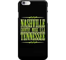 Nashville  Tennessee Country Music  iPhone Case/Skin