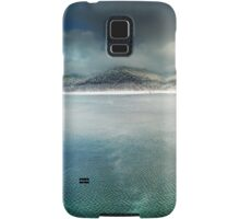 Vidraru lake in the winter, Romania Samsung Galaxy Case/Skin