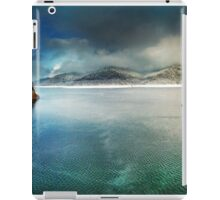 Vidraru lake in the winter, Romania iPad Case/Skin