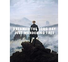 Sleeping Ute | Wanderer above the Sea of Fog Photographic Print