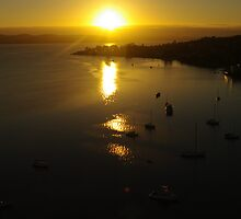 Waterscape: View of Hobart harbour, Tasmania II by Vanessa Pike-Russell
