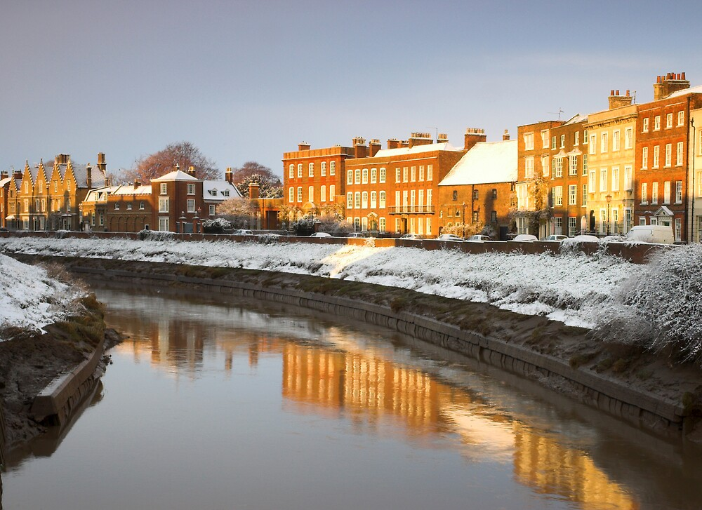Winter Town by NaturalBritain