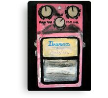 Ibanez Analogue Delay Acrylics On Canvas Board Canvas Print