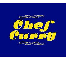 Chef Curry! Photographic Print
