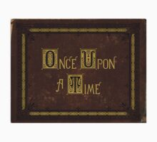 Once Upon A Time Book Kids Tee