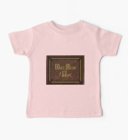 Once Upon A Time Book Baby Tee