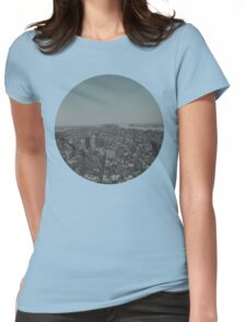 Manhattan - New York City Womens Fitted T-Shirt