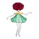 Flower Girl : Dahlia by studinano