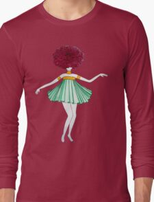 Flower Girl : Dahlia Long Sleeve T-Shirt