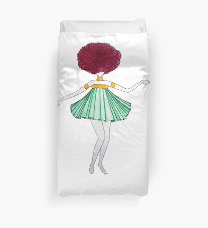 Flower Girl : Dahlia Duvet Cover