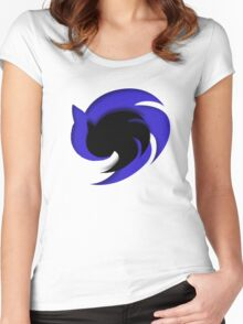 Sonic Emblem Women's Fitted Scoop T-Shirt