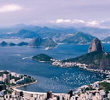 Sugarloaf Mountain - Rio De Janeiro by Anastasia E
