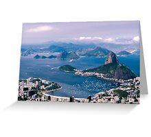 Sugarloaf Mountain - Rio De Janeiro Greeting Card