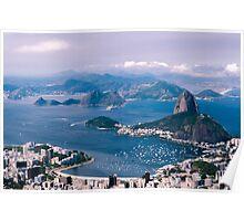 Sugarloaf Mountain - Rio De Janeiro Poster