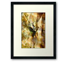 Midas Touch Framed Print
