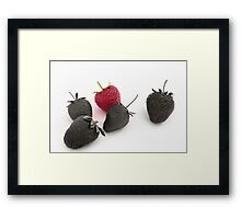 Od one out. Framed Print