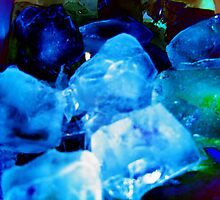 Ice blocks by Belinda Miller