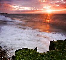 Thorpeness Beach Suffolk . by Wayne Bradshaw