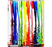 "Rainbow of Crayons ""Melting"" in 120* F. iPad Case/Skin"