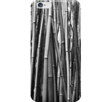 Black & White Bamboo Leggings iPhone Case/Skin