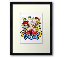 Parodius Framed Print