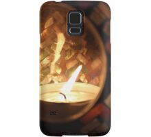 Pretty Candle Samsung Galaxy Case/Skin