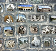 Walking on History II - Rome by Sandro Rossi