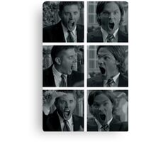 Jared and Jensen Outtake photoset Canvas Print