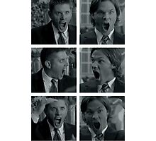 Jared and Jensen Outtake photoset Photographic Print