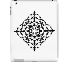 taj mahal engraving - papercut pattern iPad Case/Skin