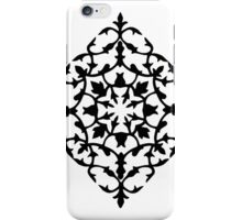 taj mahal engraving - papercut pattern iPhone Case/Skin