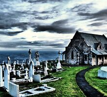Llandudno  Great Orme Church HDR by Dfilmuk Photos