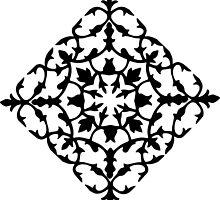 taj mahal engraving - papercut pattern by Sid's Papercuts 8<