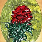 Single Red Rose by WhiteDove Studio kj gordon