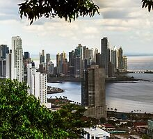 Panama City by Bernai Velarde