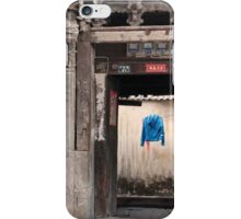 Blue Jacket iPhone Case/Skin